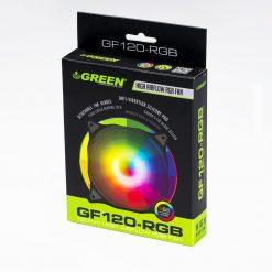 GREEN CASE FAN GF120 RGB