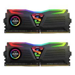 رم Geil SUPER LUCE RGB 16GB Dual DDR4 3000 CL15