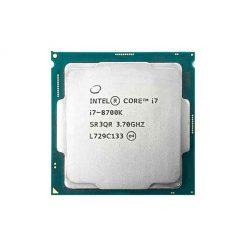 پردازنده اینتل مدل i7 8700K با فرکانس ۳٫۷ گیگاهرتز