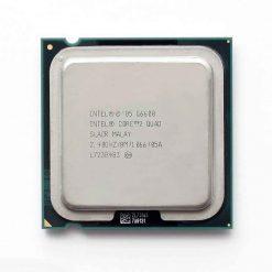 پردازنده ۴ هسته ای اینتل مدل Q6600 با فرکانس ۲.۴۰ گیگاهرتز
