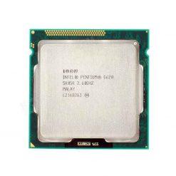 پردازنده پنتیوم اینتل مدل G620 فرکانس ۲.۶ گیگاهرتزی