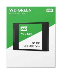 حافظه SSD وسترن دیجیتال مدل GREEN ظرفیت 120 گیگابایت