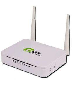 مودم +ADSL2 بیسیم جی نت مدل +AD3004