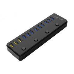 هاب USB 3.0 دوازده پورت اوریکو مدل P12-U3