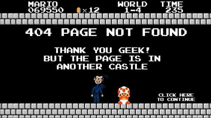 ارور 404 چیست؟