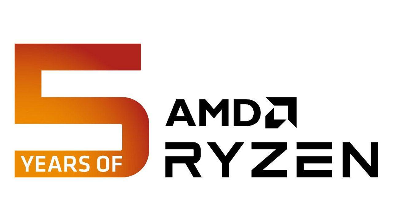 پردازنده AMD RYZEN پنج ساله شد